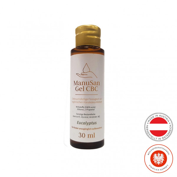 Manusan eucalyptus hand gel 30ml