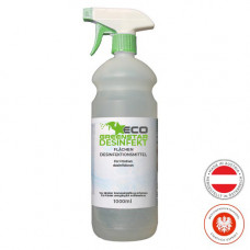 ECO GREENSTAR DESINFEKT disinfectant spray surfaces 1000ml spray bottle