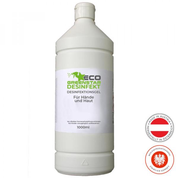 ECO GREENSTAR DISINFECT hand gel 1000ml