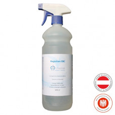 Disinfectant spray REGIOSAN FLÄCHEN 1000ml spray bottle